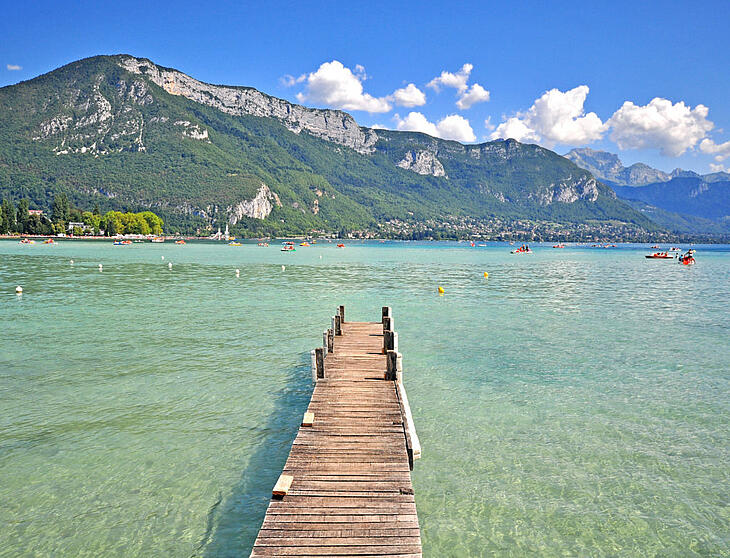 lac d'annecy camping