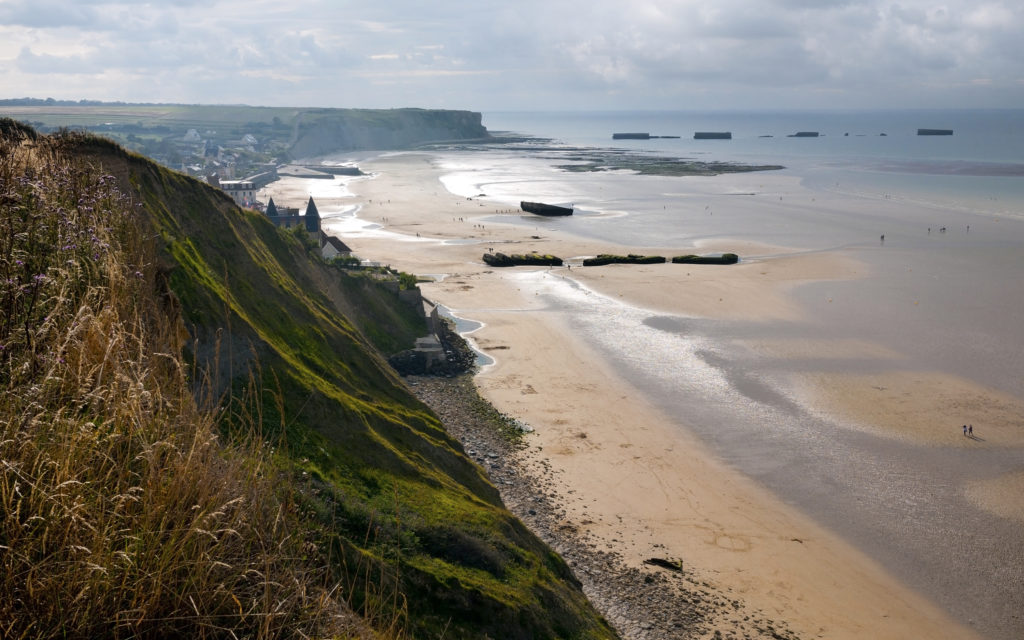 Utah Beach en Normandie
